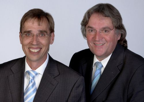 RAe Hansjörg Berrisch und RAe Volker Wagner
